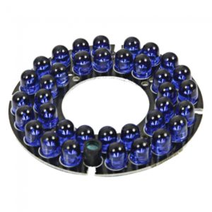 ¨¦?? 36-LED 20m IR Lighting for 60# Security Camera Housing Blue