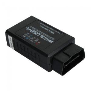 USB OBD2 EOBD coche herramienta de diagn¨®stico WIFI327 WIFI
