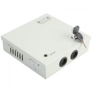 Regulado Caja de distribuci¨®n de la fuente de alimentaci¨®n de 6 canales para el sistema de circuito cerrado de televisi¨®n