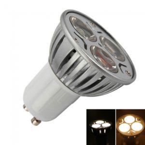 LED GU10 3W 240LM Spotlight Bulb 3500K Warm White Light