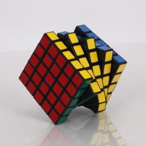 XWH 5x5x5 Maru Magia Profesores primavera Cubo Negro con accesorios