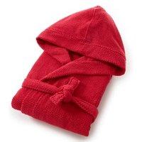 Albornoz con capucha mujer 100% algodón 350g/m² con motivo