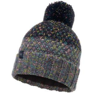 Gorro tricot y polar Negro