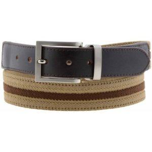Cinturón piel y elastico