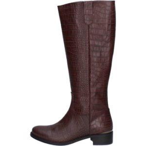 botas marrón cuero AJ244