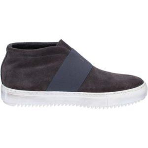 ONELIO MODA sneakers gris gamuza textil BX446