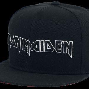 Comprar Iron Maiden Logo Snapback Cap Negro
