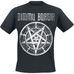 Comprar Dimmu Borgir Pentagram Logo Camiseta Negro