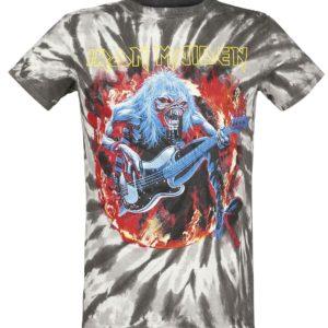 Comprar Iron Maiden Eddie Bass Camiseta gris/negro