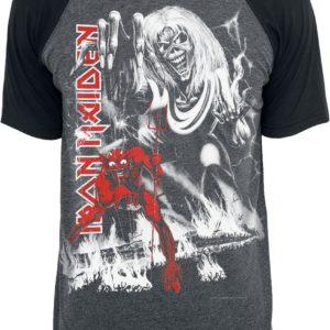 Comprar Iron Maiden NOTBBW Camiseta gris marengo/negro