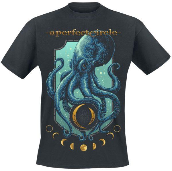 Comprar A Perfect Circle Moon Oracle Camiseta Negro