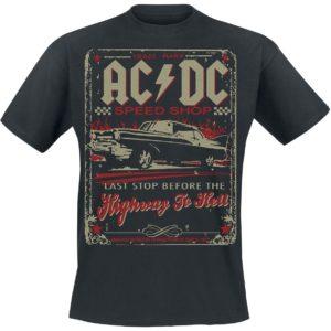 Comprar AC/DC Highway To Hell - Speed Shop Camiseta Negro