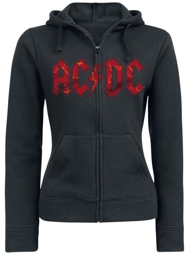 Comprar AC/DC Ballbreaker Chaqueta con capucha Mujer Negro