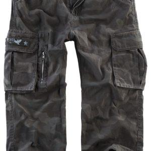 Comprar Black Premium by EMP 3/4 Army Vintage Shorts Pantalones cortos Camuflaje oscuro