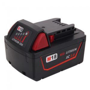 MIL-18V(A) 18V 3000mAh Rechargeable Li-ion Battery for Milwaukee 48-11-1840 M18