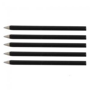 5pcs Negro Ronda de 30W sin plomo punta de soldadura de hierro Tsui