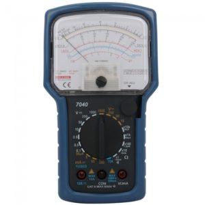 KT7040 anal¨®gico AC DC Mult¨ªmetro Azul 2xAA