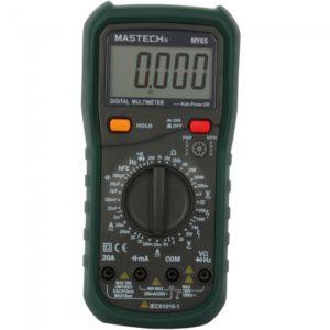 Mastech MY65 4 1 2 LCD Digital AC DC Mult¨ªmetro 1x9V