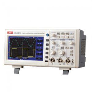 """7 """"LCD 500MS / s de 50 MHz 2-CH sobremesa osciloscopio de almacenamiento digital"""