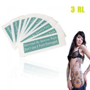 10pcs desechables tatuaje de la ceja del maquillaje Agujas 3RL