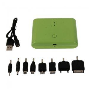 12000mA Dual Interface 4LED energ¨ªa para el tel¨¦fono m¨®vil MP3 PSP Verde