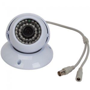 """1/3 """"CMOS 380TVL 36IR Seguridad LED CCTV de la b¨®veda de la c¨¢mara blanca"""