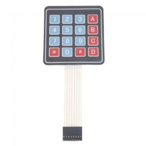 4 x3 Matriz Matrix 12 Clave Membrana conmutador teclado teclado