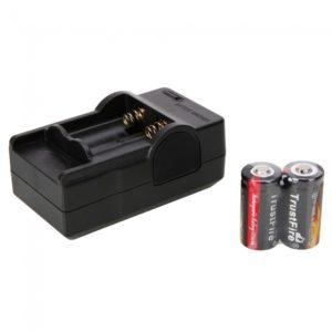 4.2V 600mAh Cargador + 2pcs TrustFire 16340 3.7V bater¨ªa de litio