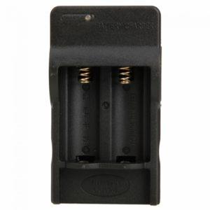 4.2V 600mAh DC cargador para 2x16340 CR123A rechargerable