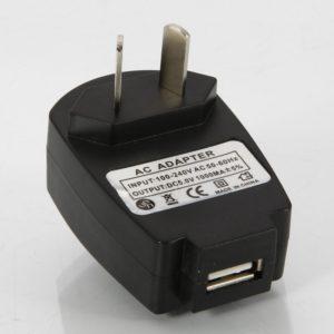 Adaptador Cargador 5V DC 1000mA universal combada con interfaz USB