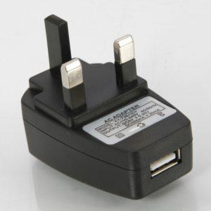 5V CC 500mAh Cargador plana universal con interfaz USB est¨¢ndar BRIT?NICO