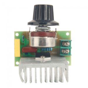 SCR Regulador de voltaje de atenuaci¨®n Dimmer regulador de la velocidad del termostato