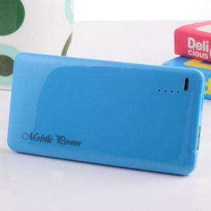 YZD-03 5600mAh ultrafino Mini energ¨ªa m¨®vil portable del cargador Azul