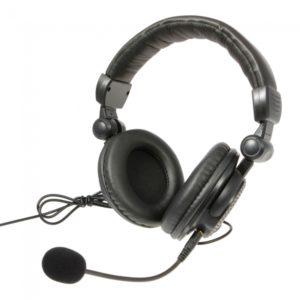 4-en-1 Big auriculares para Xbox 360 / PS3 / PS4 / c Negro