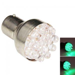 1156/7 S25 12 LED Coche Bombillas Verde