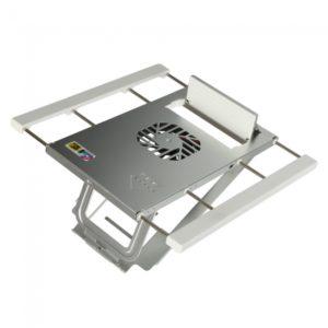 Fresco de enfriamiento del soporte 1 Ventilador para PC port¨¢til Blanco