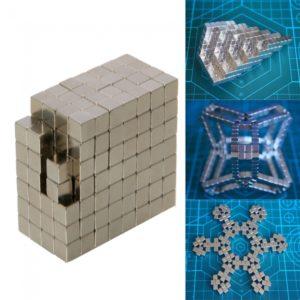 216pcs 4mm buckyballs Neocube cubo m¨¢gico magn¨¦tica de plata del juguete