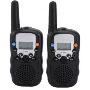 5KM de mano radios de dos v¨ªas Walkie Talkie (par)
