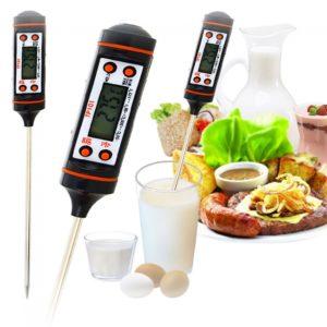 Cocina barbacoa Digital de la cocina Food carne de la punta del term¨®metro electr¨®nico
