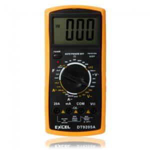Automatic Range Digital LCD Multimeter Excel DT9205A