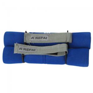 2pcs 4 Libras Ejercicio Gimnasio Body Sport Mujeres pesas azul