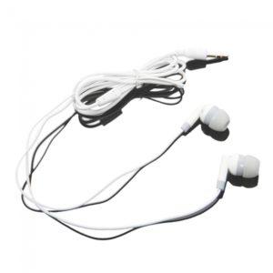 3.5mm Estilo oreja los auriculares para Tablet PC Blanco