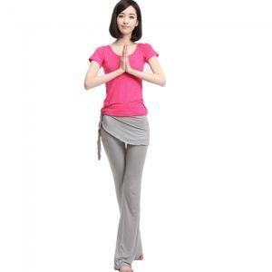 3pcs baile femenino de fitness yoga Trajes Tama?o de la ropa S