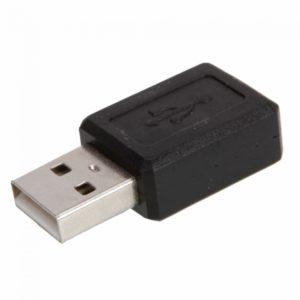 5-pin Mini USB Cable Adaptador F / M Negro